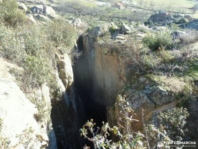 Gran Cañada-Cordel la Pedriza; caños de meca agencia de viajes rascafria camino del rey